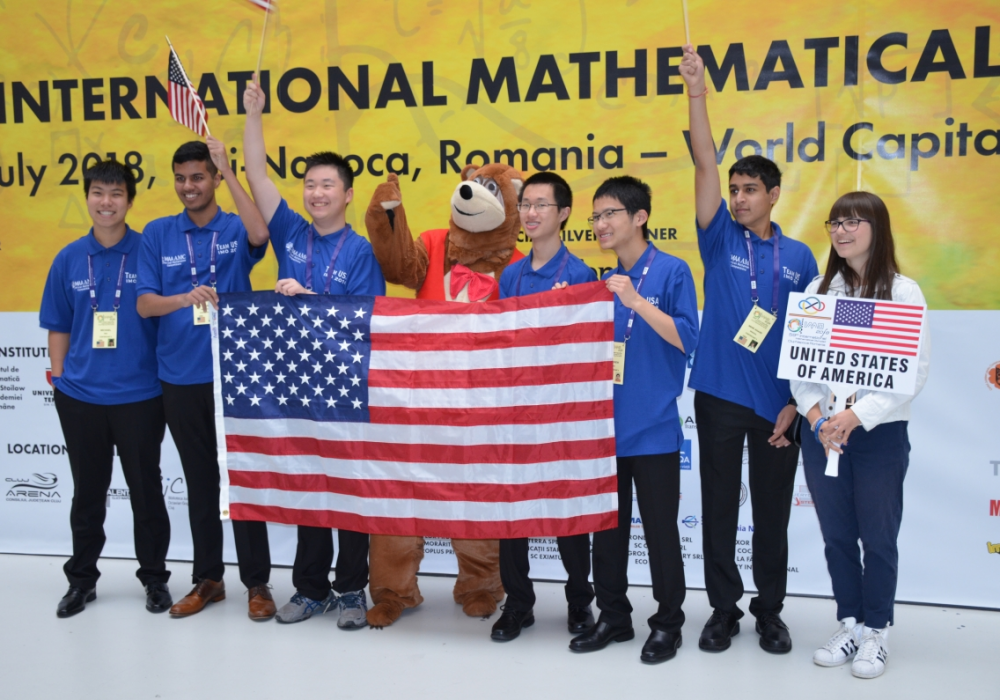 US Team Wins 1st Place at International Math Olympiads